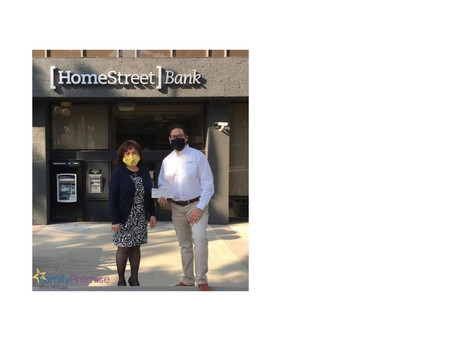 THANK YOU, HOMESTREET BANK!