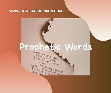 Corporate Prophetic Word 9/6/2019