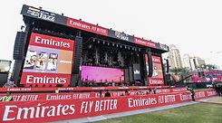 Concert Festival stage dubai