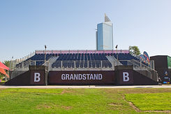Grandstand seats Dubai