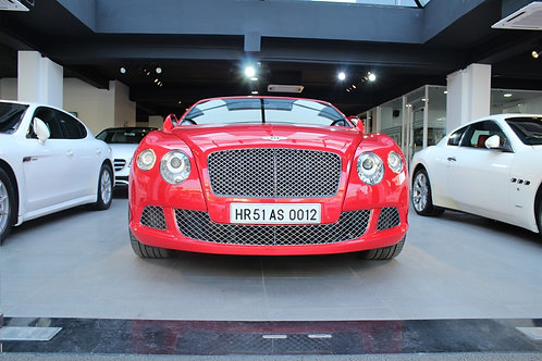 2012 Bentley Continental GTC W12