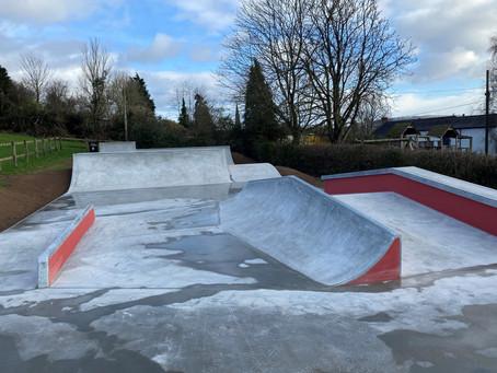 Uffculme Skatepark OFFICIALLY OPEN!