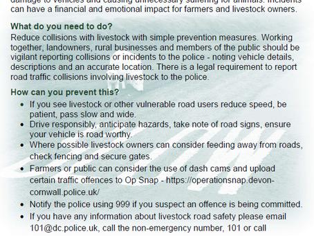 Rural Safety - Livestock