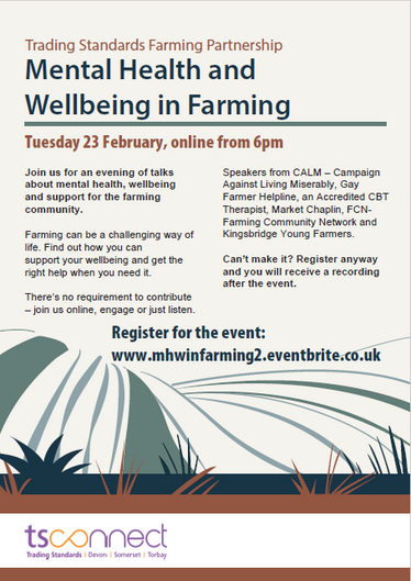 Mental Health and Wellbeing in Farming