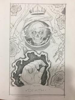Ghostranaut Illustration Sketch