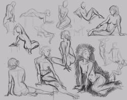 Figure Drawing 5-23-17