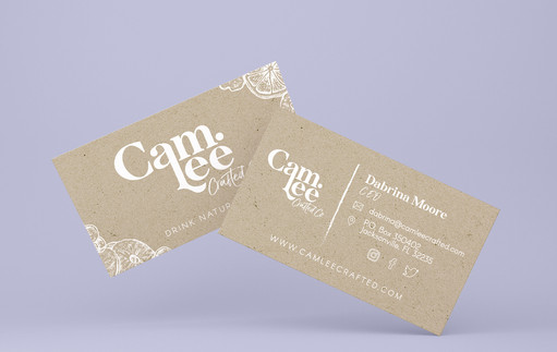 Cam.Lee Crafted Business Card