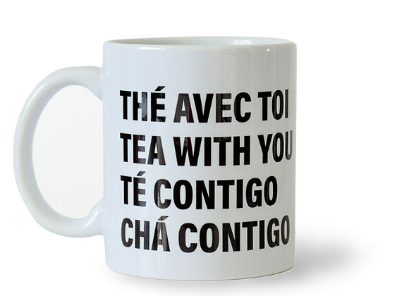 Caneca Chá Contigo - 320 ml