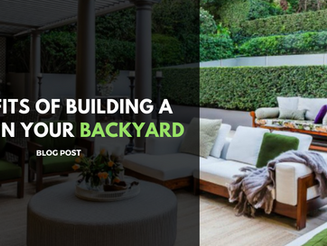 Benefits of Building a Patio in your Backyard