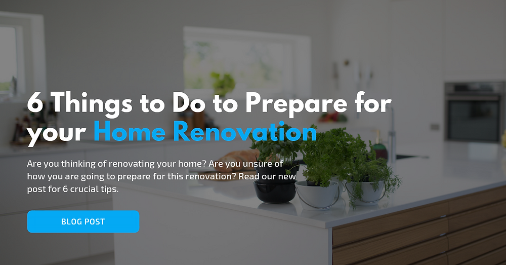 6 things prepare home renovation