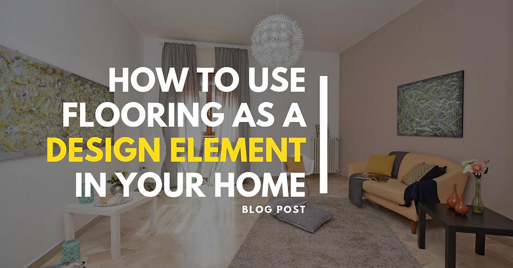 use flooring design element home