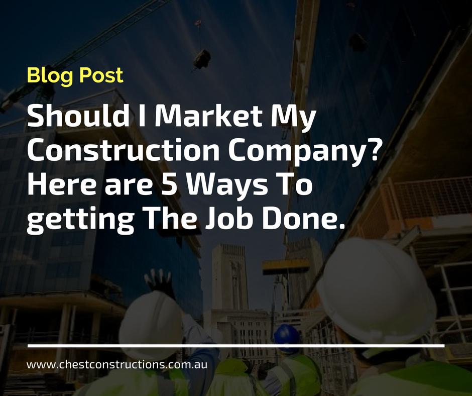 market construction company perth