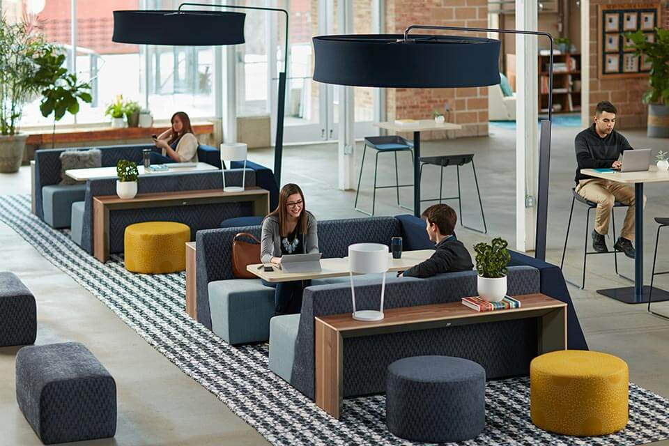 office spaces and zones
