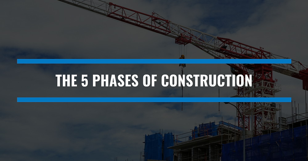 the 5 phases construction blog cover