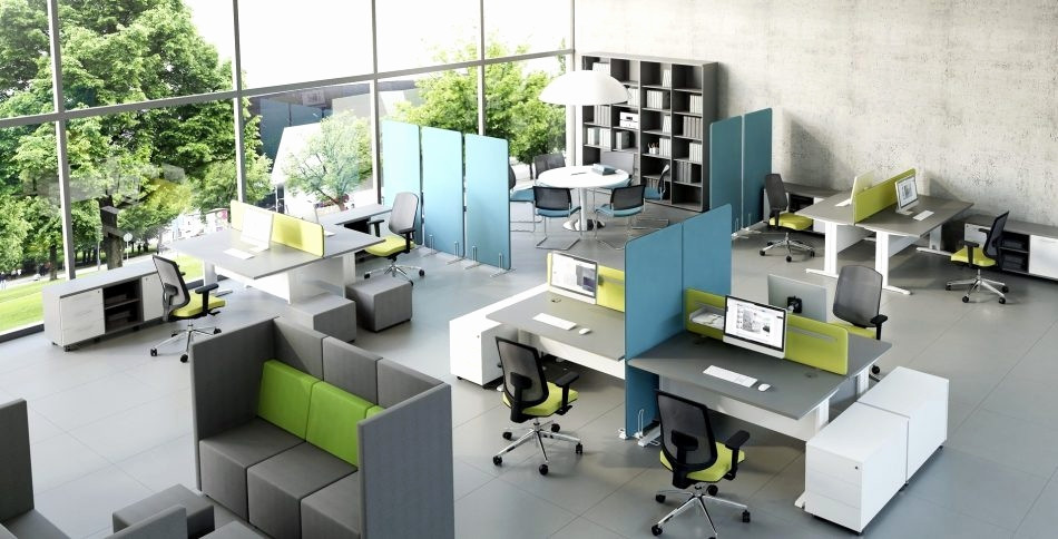 open office floor plan