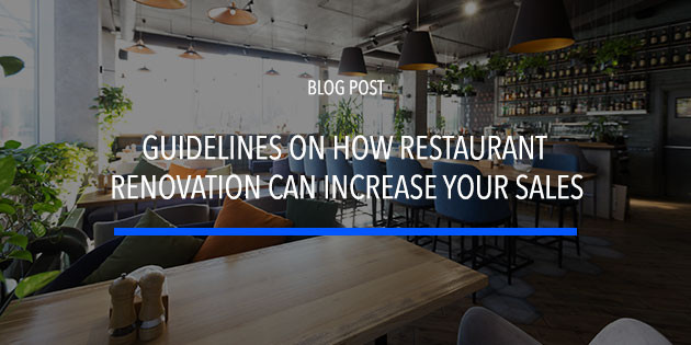 restaurant renovation tips to increase sales