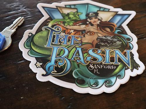Basin Sticker