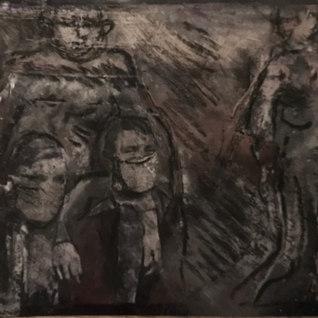 Título: El desobediente Año:2020 Técnica: Collage, técnica mixta Dimensiones: 6.5x9cm Colección Ines Bejot, Guatemala