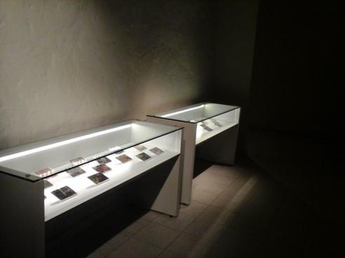 Montaje salón Olga Blinder Museo del Barro  Serie el Imperio de la Mirada II Año 2014