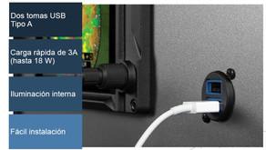 CARGADOR USB AERONÁUTICO - GSB 15