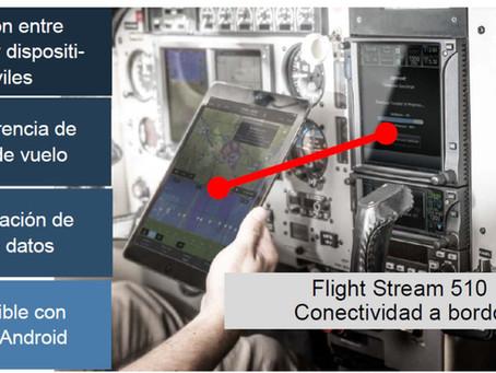 Flight Stream 510, conectividad a bordo