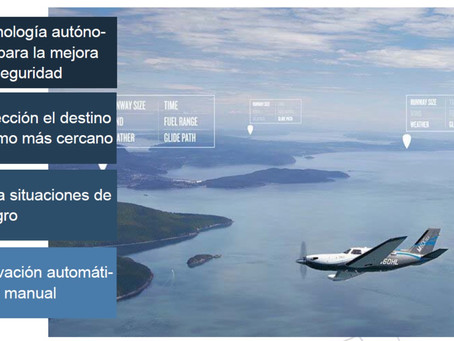 AUTOLAND Sistema de aterrizaje de emergencias automático de GARMIN