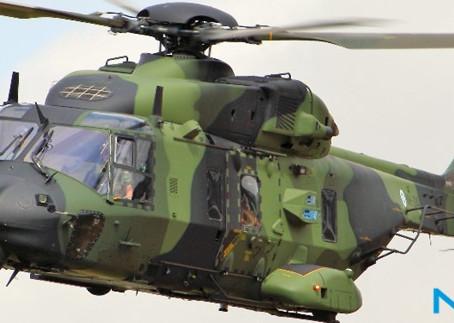 EUROFLIR 410, SISTEMA ELEGIDO EN LA MODERNIZACIÓN DE LOS NH90 TTH FRANCESES