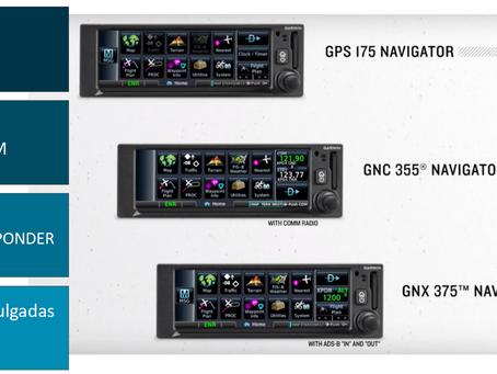 NUEVOS EQUIPOS DE NAVEGACIÓN GARMIN GPS 175, GNX 375 & GNC 335