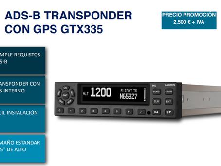 PROMOCIÓN TRANSPONDER CON GPS GTX335