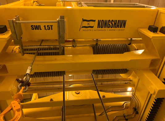 Travle dager hos Kongshavn Industri