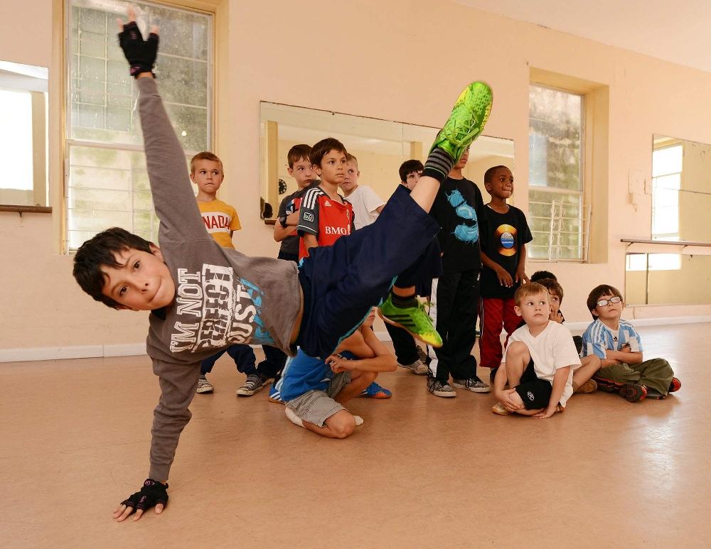 BOYS ONLY HipHop Classes