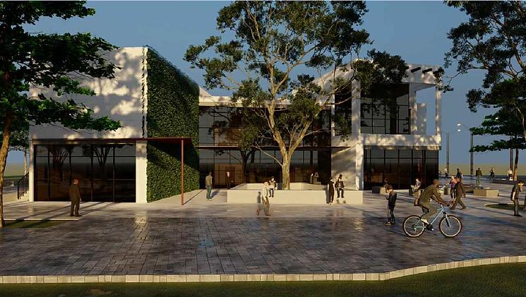 פרויקט גמר אדריכלות ועיצוב פנים מכללת או