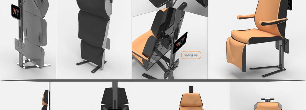 כסא מטוס | דניאל שוקרון-עיצוב תעשיית