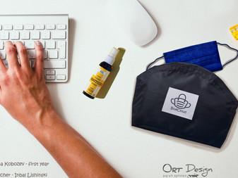 עיצוב ערכת מיגון אישית נגד הדבקה בנגיף הקורונה