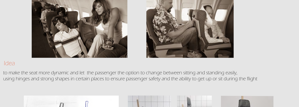 הגשה כסא מטוס דניאל שוקרון-2עיצוב תעשיית