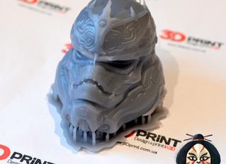 3D печать игрового персонажа