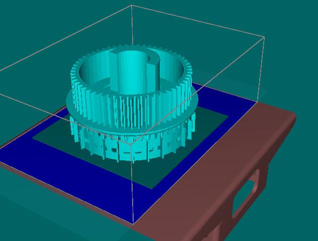 3D моделирование детали для авто