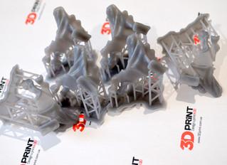 3D печать учебных моделей на Form2