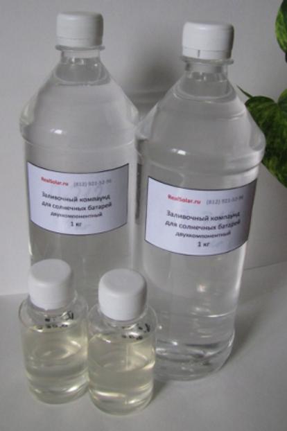 Силикон оптически прозрачный для ванн RealSolar - 1L