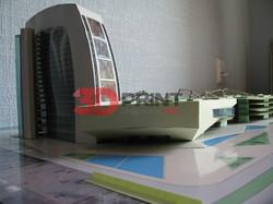 Архитектурный макетТоргового центр