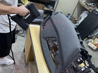 Инженерное 3д Сканирование торпеды автомобиля
