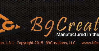 Обновление программы B9creator