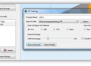 Настройки Simplify 3D для 3D принтера Leapfrog HS