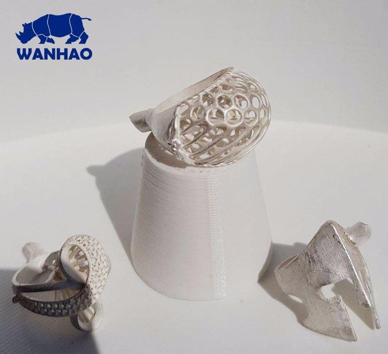 wanhao_duplicator_7 печать ювелирных 3D моделей