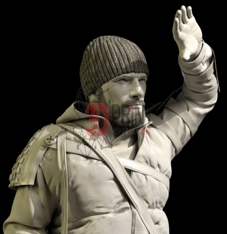 3D модель персонажа