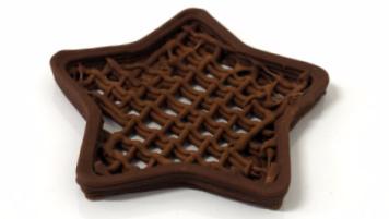 печать шоколадом Zmorph