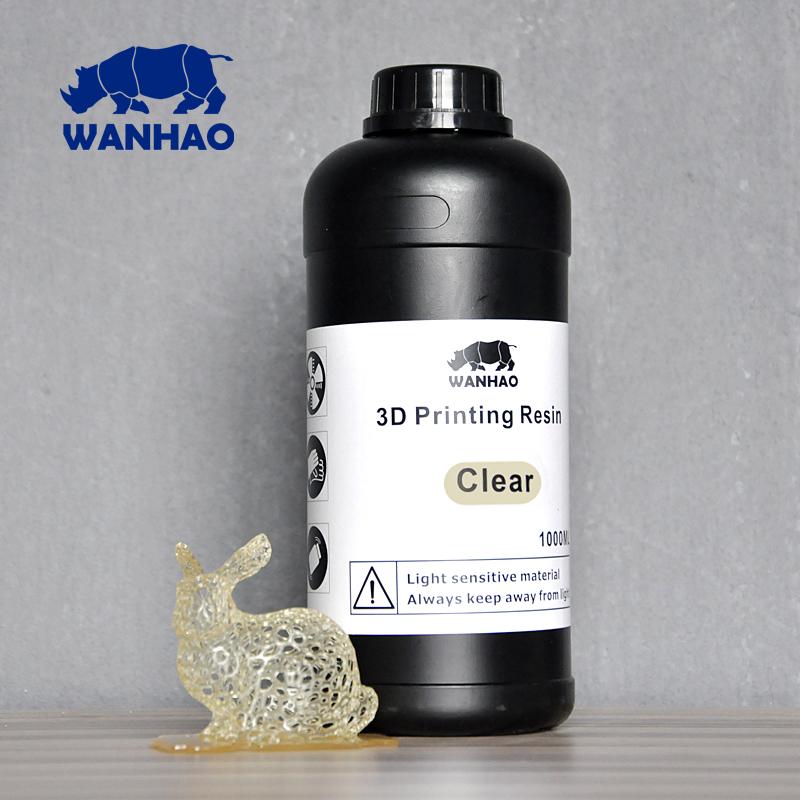 Wanhao прозрачный фотополимер для  Wanhao-Duplicator 7