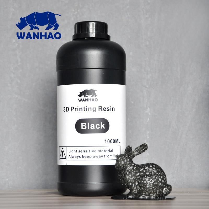Wanhao черный фотополимер для  Wanhao-Duplicator 7