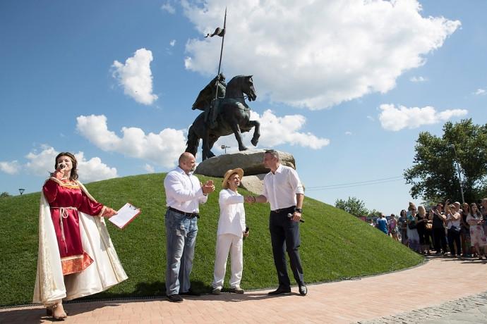 3Д печать скульптуры Ильи  Муромца Киев