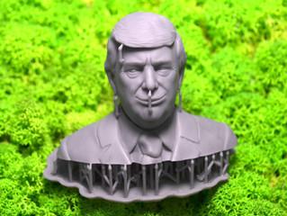 SLA 3D печать персонажа